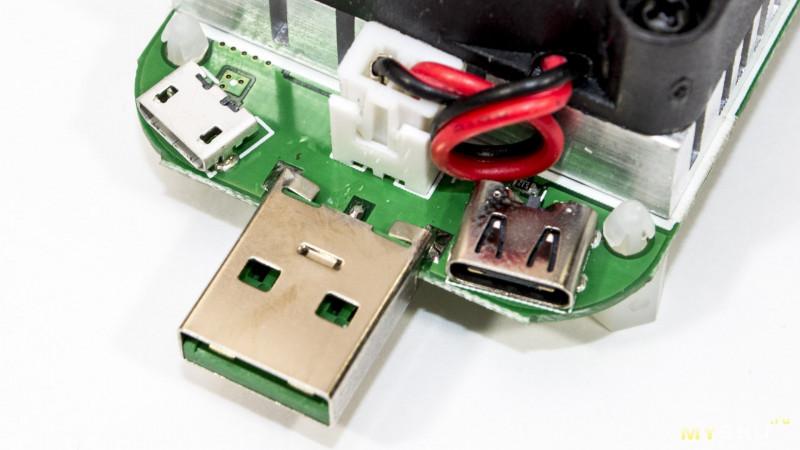 Маломощная электронная нагрузка для USB тестеров – RUIDENG LD25