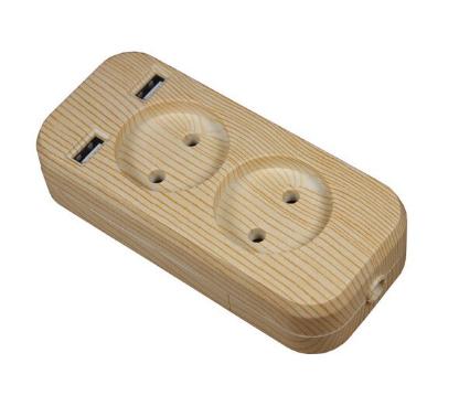 Блок розеток для удлинителя с USB зарядкой