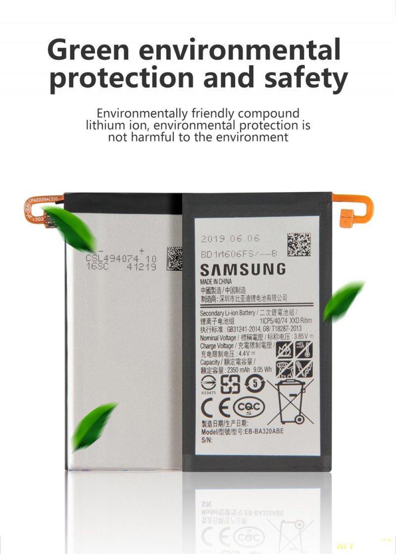 Аккумуляторы к Samsung Galaxy A3 2017