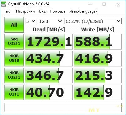 SSD M 2 NVMe KingSpec NE-128 на контроллере SM2263XT