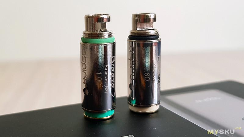 Электронная сигарета Aspire Breeze 2 POD [kit] - пробуем солевой никотин