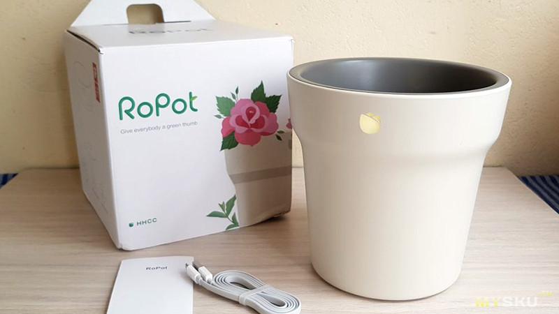Умный цветочный горшок RoPot от XIaomi [Mi Flora]