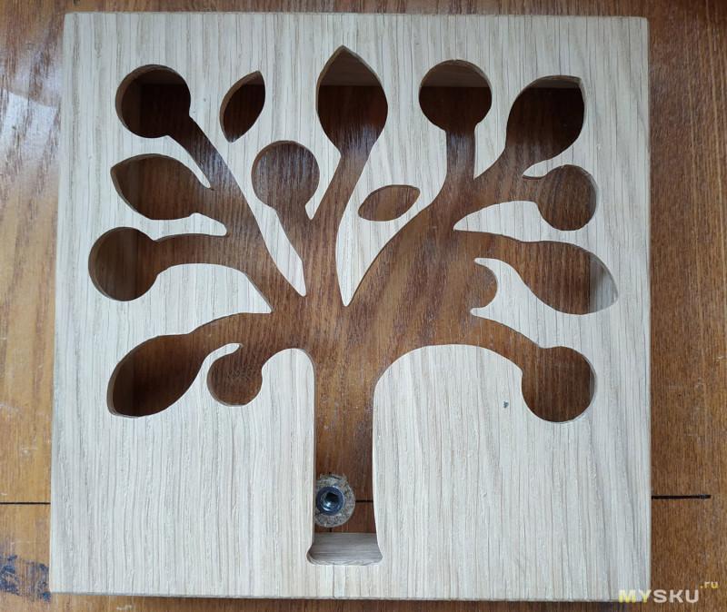 Ночник из дерева в спальню своими руками