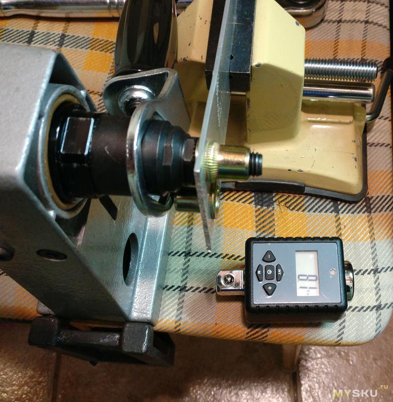 Насадка на шуруповерт для установки резьбовых (гаечных) заклепок