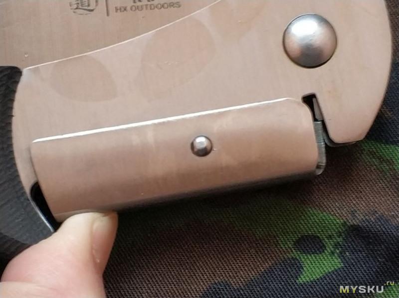 Складная пила HX GB-02 (352mm 7CR17MOV)