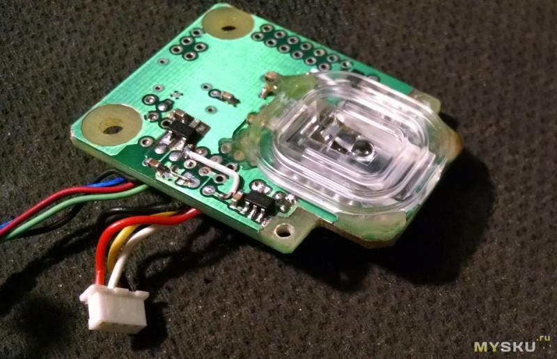 <span>Мышь WX-Mouse (сенсор PMW3360) собранная в корпусе razer Mamba TE.</span>