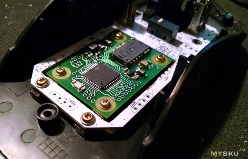 <span>Модернизация мышки Delux M625 в WX-Mouse.</span>