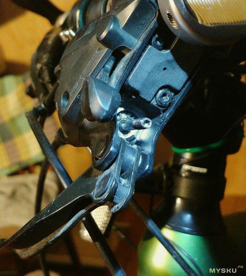 Доработка манеток Shimano ST-EF505