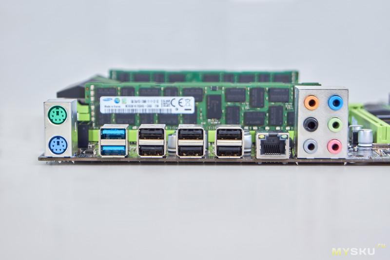Серверный процессор XEON E5 2690, материнская плата XUANANZHI X79, 32 GB ОЗУ