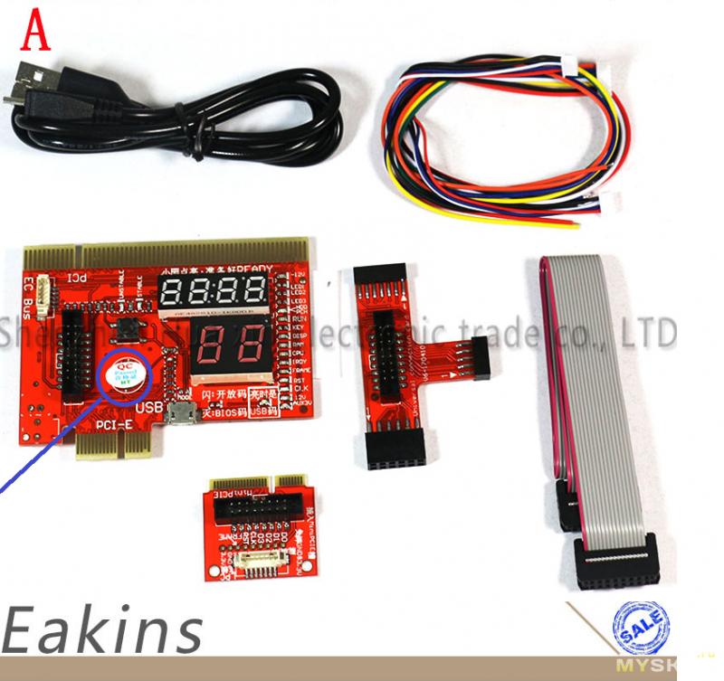 PCI//PCIE//MiniPCIE//LPC//EC Motherboard Diagnostic Analyzer Card Tester PC Laptop
