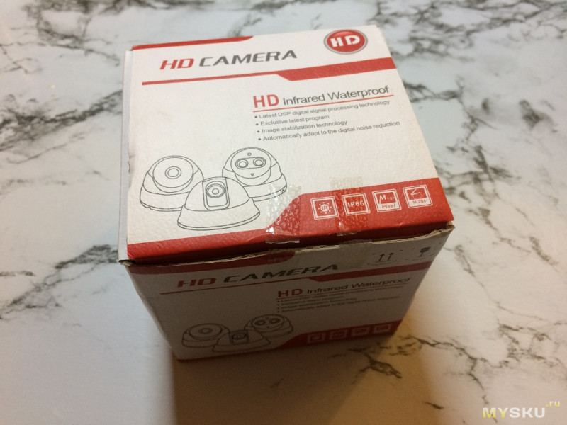 Мини IP-камера с регулируемым фокусом и зумом