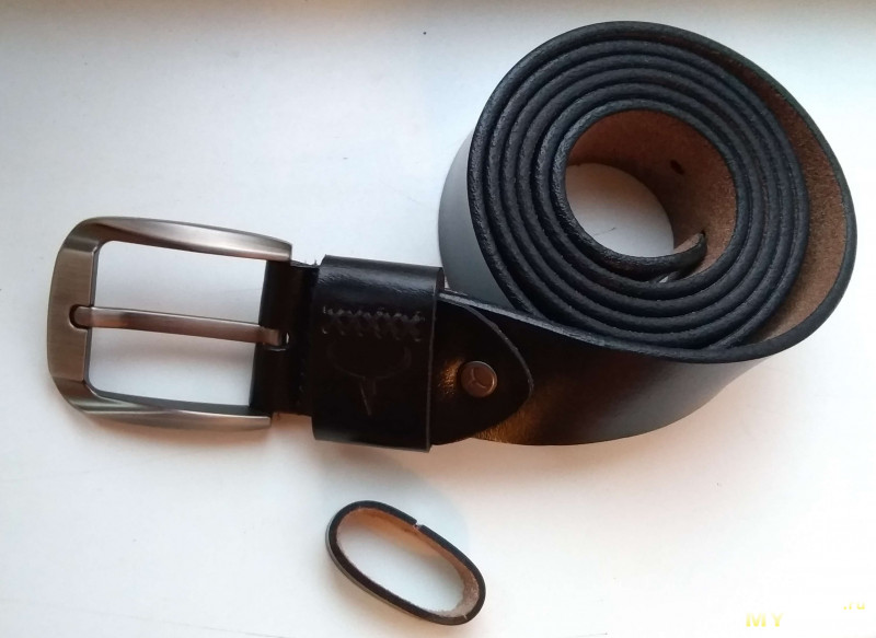 Очень длинный, 150 см, кожаный ремень Cowather XF008 с примеркой, внутренним миром и испытанием огнём