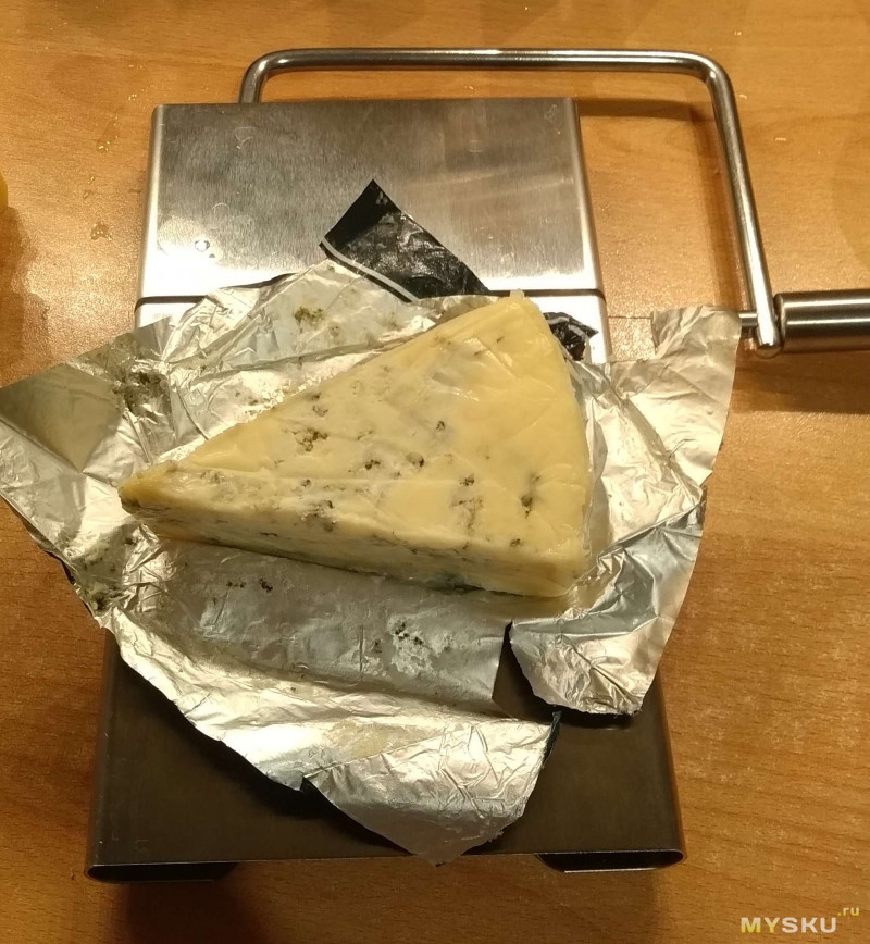Струнный резак KCASA для настоящего мягкого сыра: нержавеющая сталь и никакого bluetooth