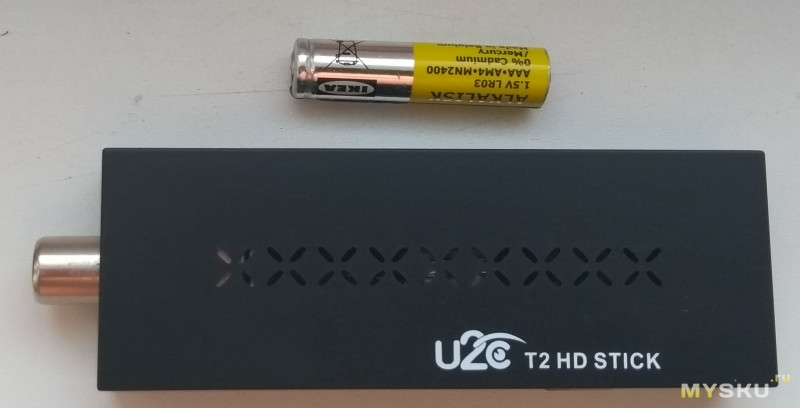 DVB T2 телевизионный тюнер - 1080P, USB 2.0 для флешки с фильмами, выносной ИК приёмник. Полностью на русском языке.