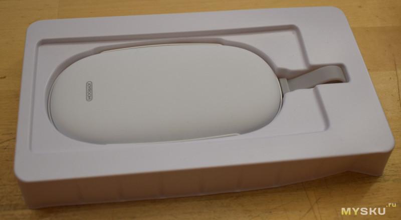 Joyroom D-A101H - рукогрей с функцией внешнего аккумулятора. С замерами и паталогоанатомией.