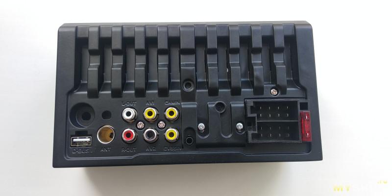 Китайская 2Din (7018plus) магнитола.Установка её в Москвич