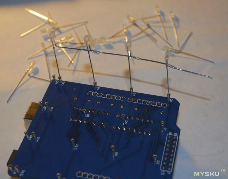 Светодиодный куб на ардуино