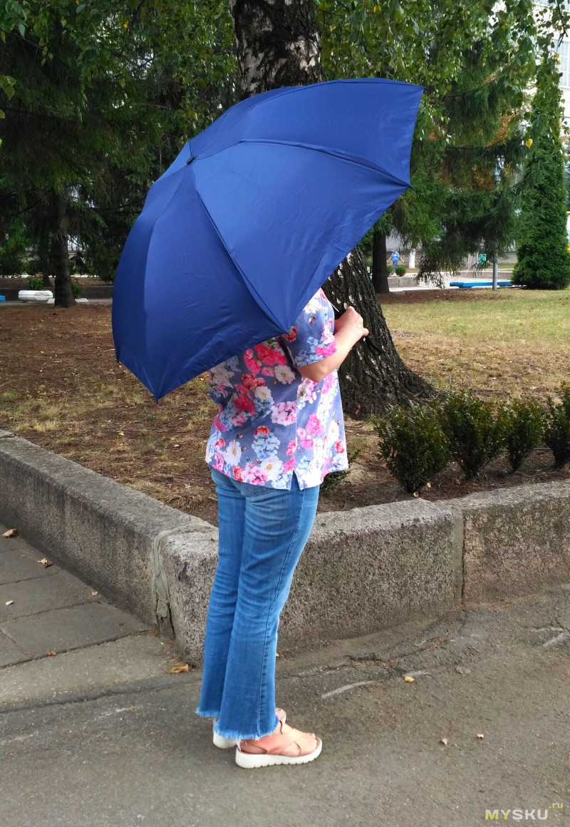 Автоматический зонт -  готовимся к осени.