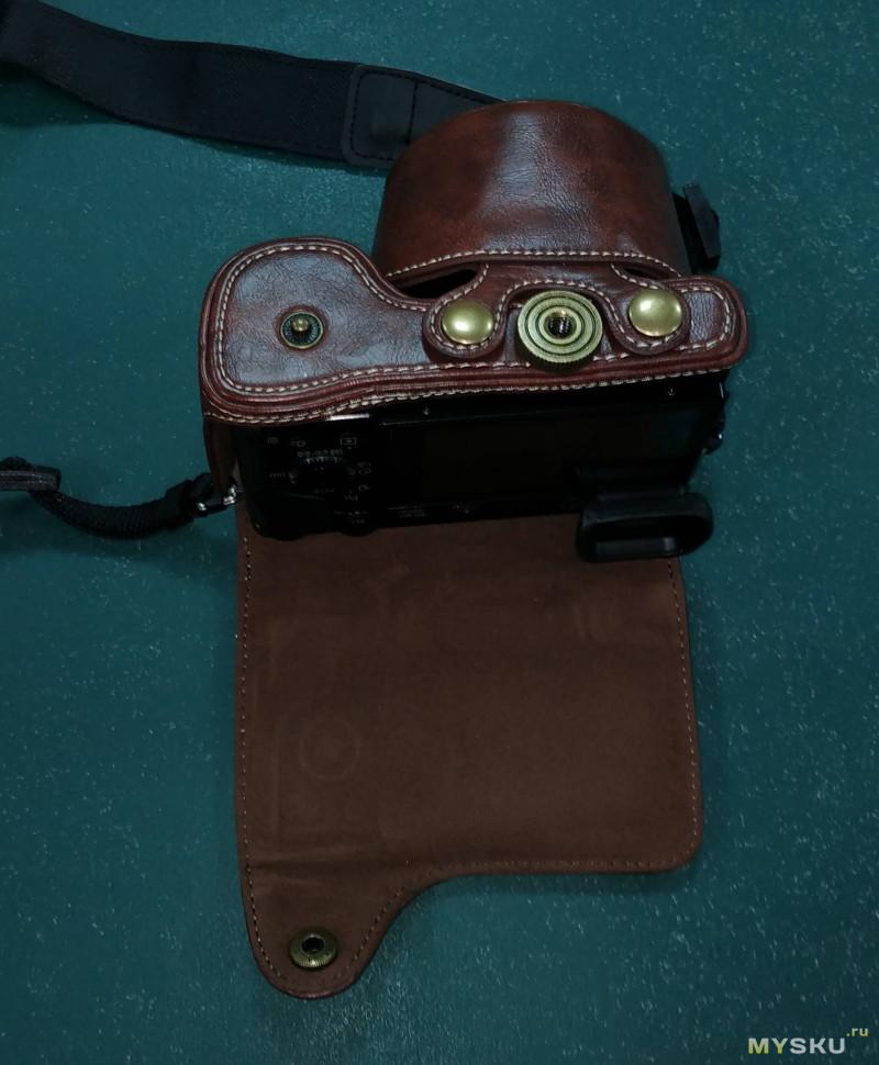 Ретро чехол для фотоаппарата Sony A6000,A6300,Nex6