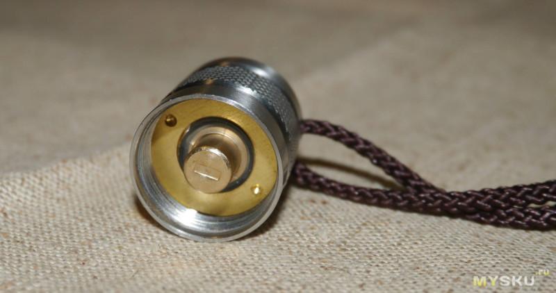 FuninFront - королевский фонарик из нержавейки для старателей.