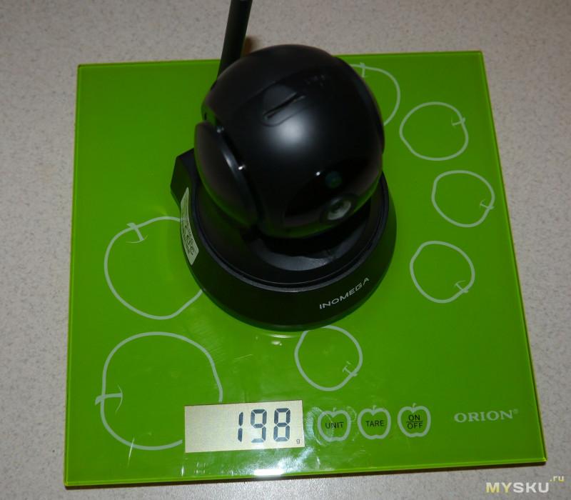 INQMEGA 720P - wifi камера видеонаблюдения.