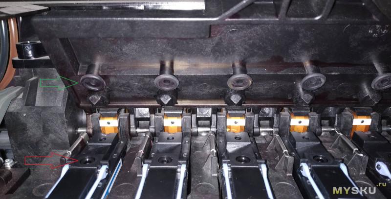 Заправка головок плоттера HP DJ 5000ps - когда надо быстро.