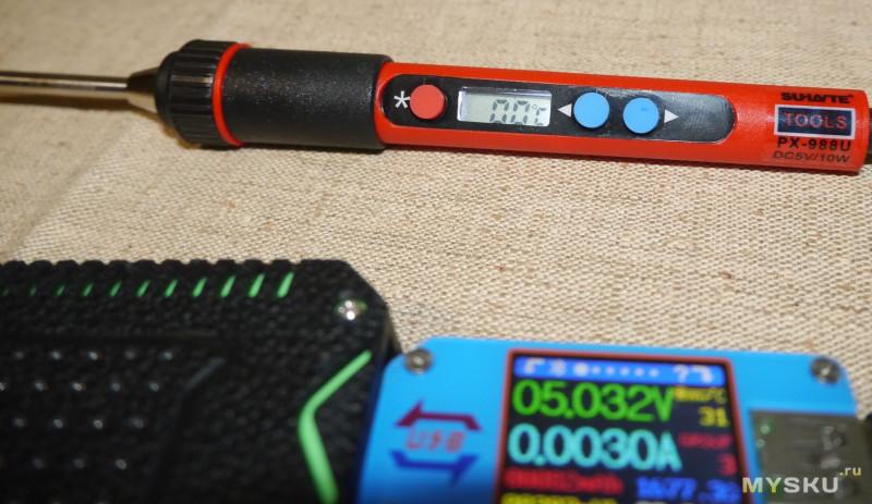 USB паяльник - PX-988U. Претендент на роль народного или нет?