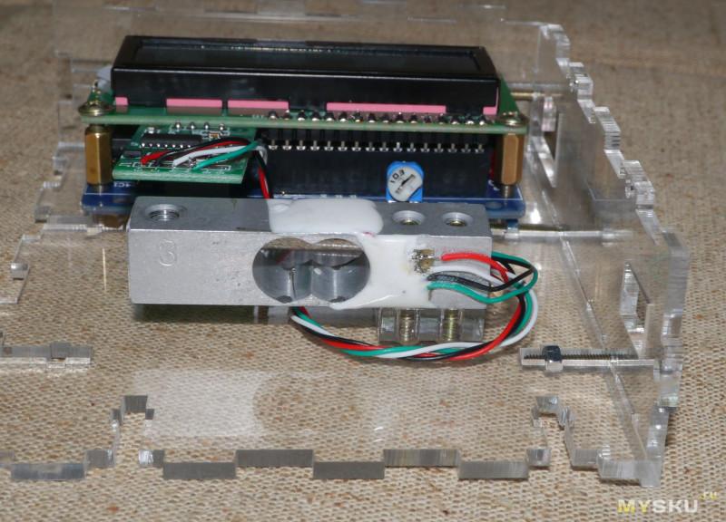 DIY набор - сделай сам электронные весы на 3 кг.