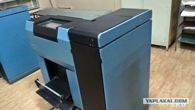 Мелкий ремонт линейно-матричного принтера OKI MX1100