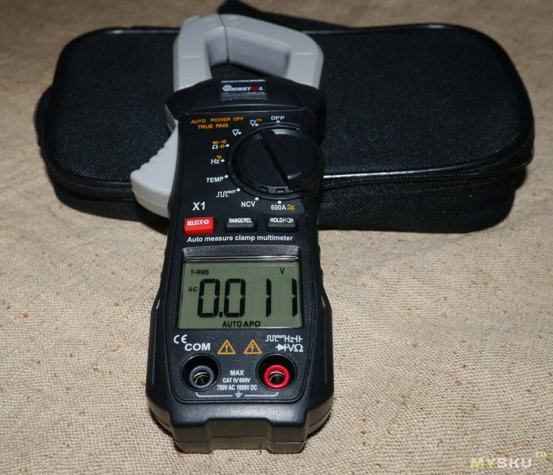Цифровой мультиметр MUSTOOL X1 Pocket
