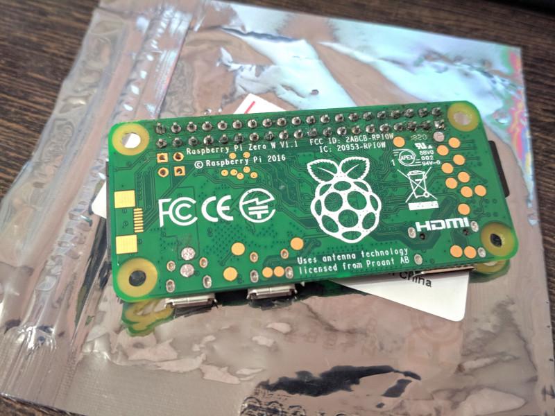 Raspberry Pi Zero W | Звезда погасла