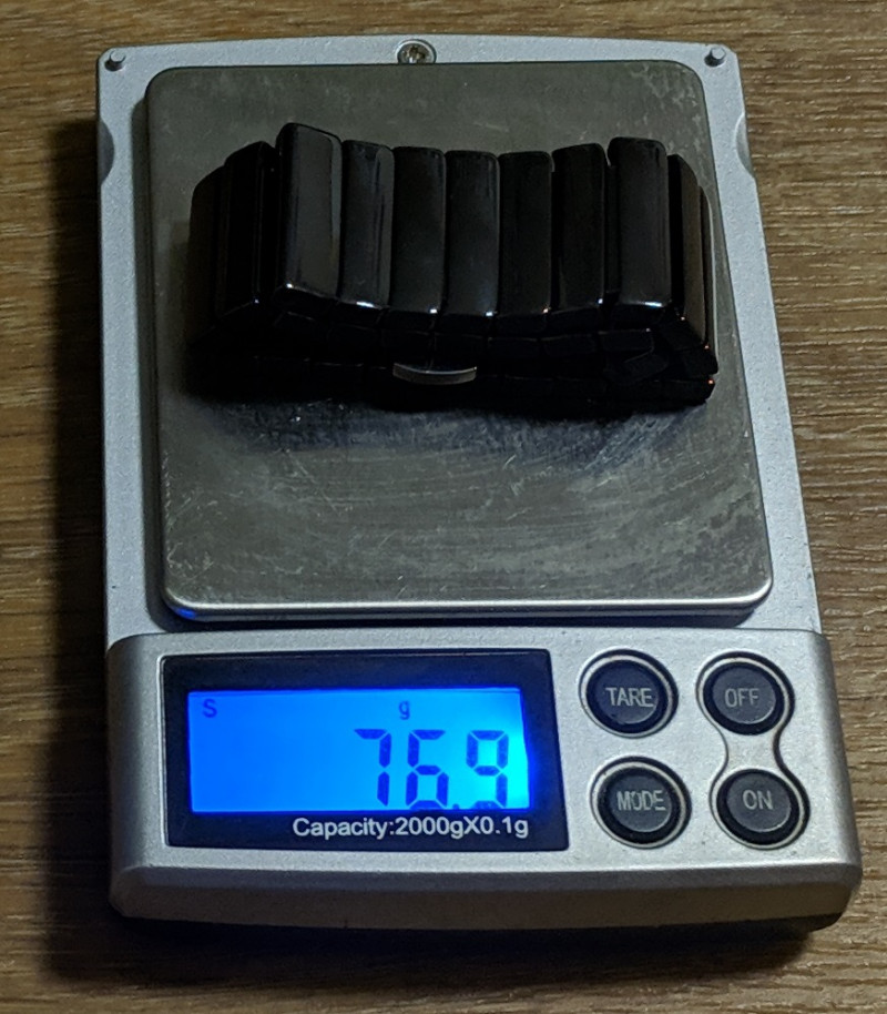 Керамический noname браслет для наручных часов 22 мм