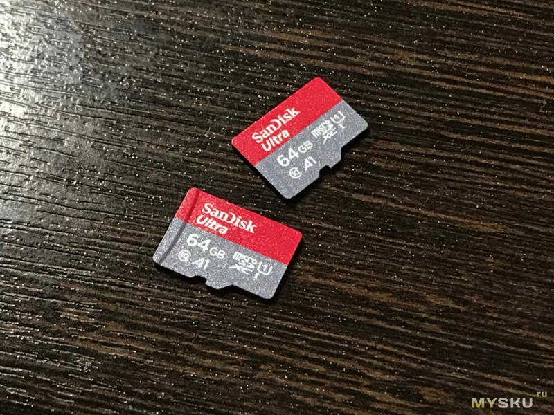 SanDisk Ultra пачка по адекватной цене! Микрообзор и тестики.