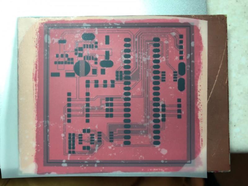 Колхозим печатную плату (фотолитография в домашних условиях)