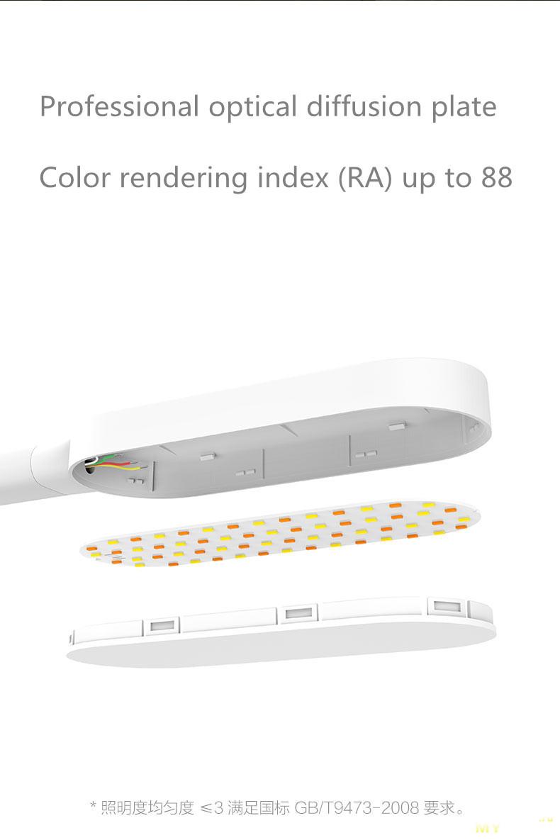 Cómo original Xiaomi Philips Eyecare Smart Lamp 2 Imagen De Lamparas Decoración