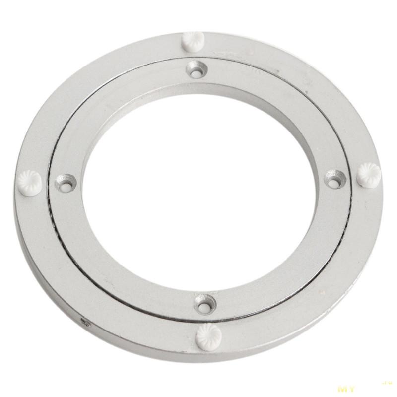 Алюминиевый вращающийся радиальный шариковый подшипник для поворотного стола (255x8.5) мм.