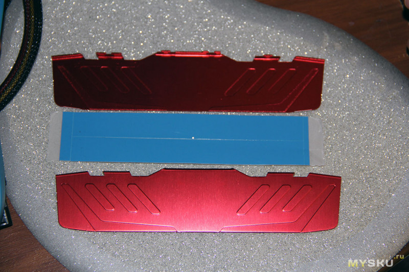 Алюминиевый радиатор для ОЗУ