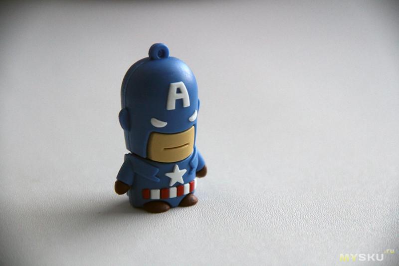 Флэшка-игрушка Капитан Америка на 32 Гб, или просто Алёшка
