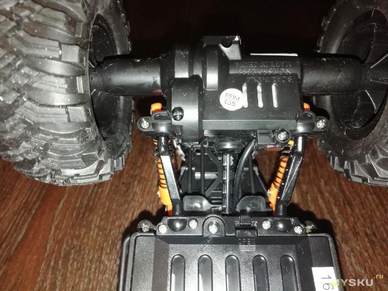 Обзор на радиоуправляемый краулер MZ climbing car 4wd rtr масштаб 1:14