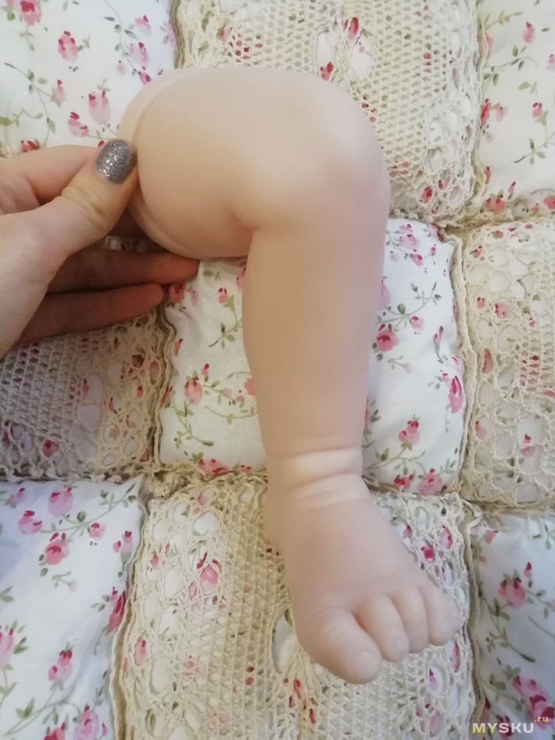"""Живые куклы"". Обзор на молд для  реборна 24-дюйма."