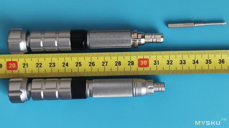 Миниобзор: набор отвёрток LAOA 25 в 1 + новая ручка для бит