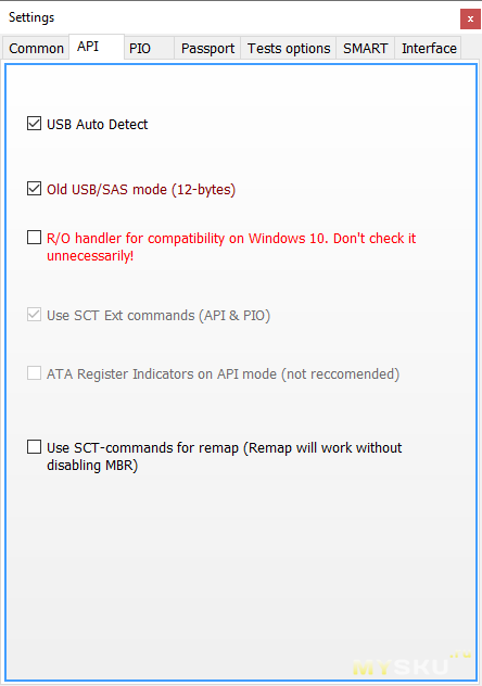 UGreen SATA IDE to USB 3 0 converter. Обзор. Проблемы с Victoria и их решение.