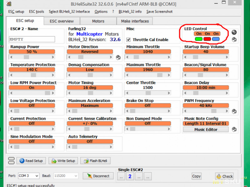 Новые регуляторы оборотов для гоночных квадрокоптеров на процессоре F3. Furling32!