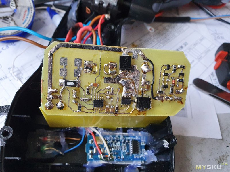 Еще одна переделка шуруповерта на литий, с правильной зарядкой батареи.