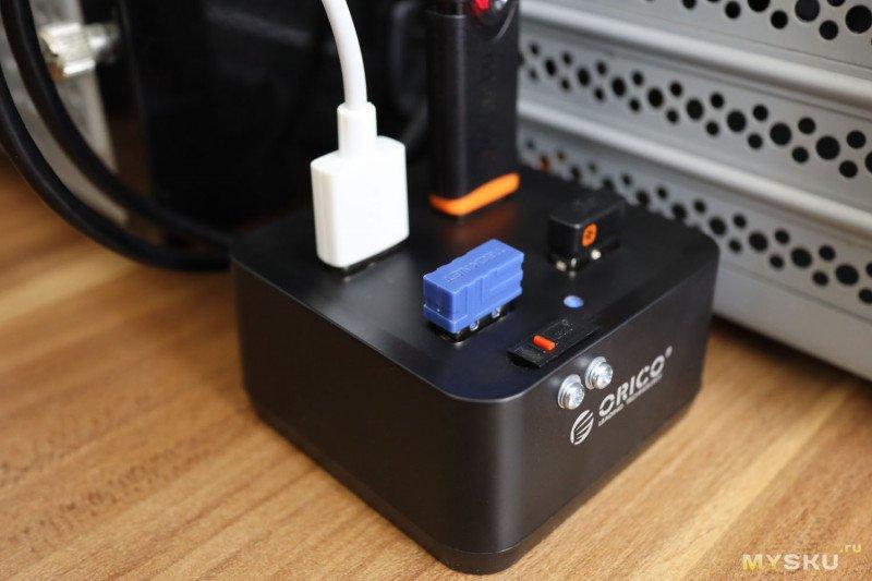 Сделаем кнопку сброса зависающих USB устройств. И почему нельзя слепо доверять брендам (например, Orico).
