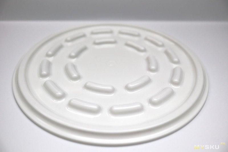 Тестовый диск для проверки работы магнетрона микроволновки.