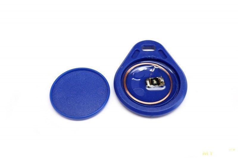 Увеличение дальности срабатывания NFC метки (ключа) домофона.