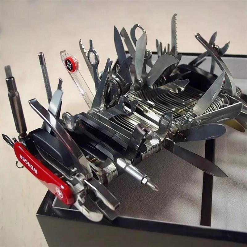 Victorinox Swiss Army Evolution Pocket Knife S54 Нож