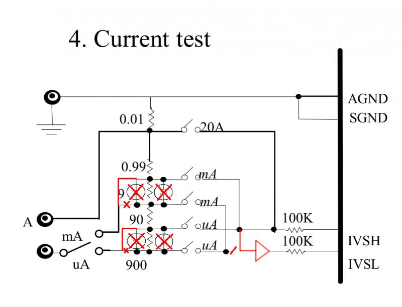 Модернизация мультиметра Owon B41T+, уменьшение сопротивления токоизмерительных шунтов.