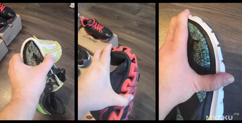 Общий и поверхностный обзор обуви от Li-Ning